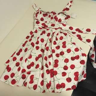 Modcloth Cherry Dress