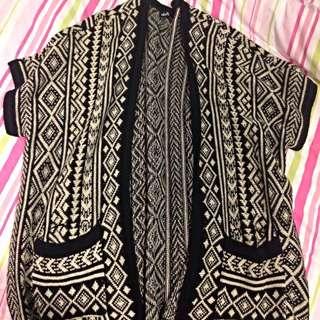 Dotti Knitted Tribal Cardi