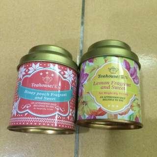 Teahouse茶葉 蜜桃甜香&檸檬甜香