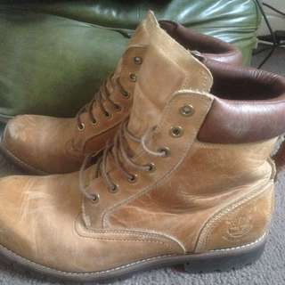 Waterproof Leather Timberlands