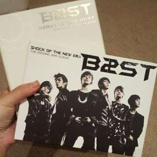Beast 1st And 2nd Mini Albums