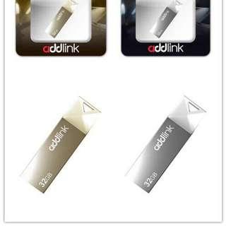 ADDLINK USB DRIVE USB 2.0 - 16GB, 32GB