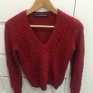 Ralph Lauren Sports Sweater
