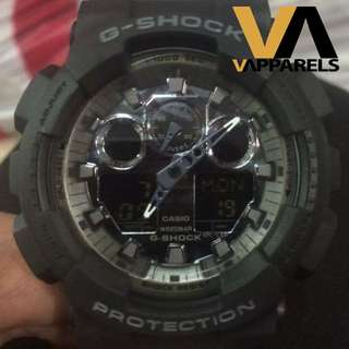 OEM G-Shock Camo Black GA-100 Series