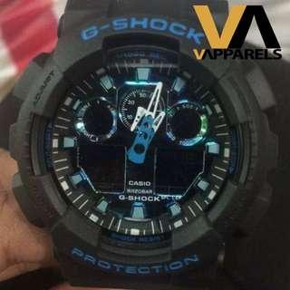 G-Shock GA-100 Series: Camo Blue