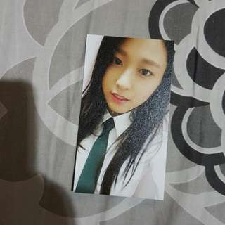 AOA Heart Attack Seolhyun Photocard