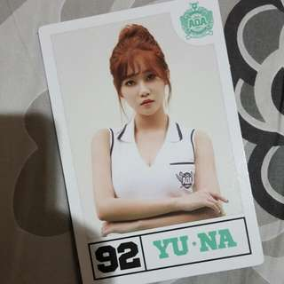 AOA Heart Attack Yuna Photocard