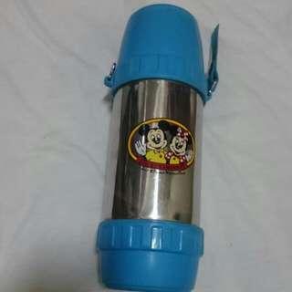 早期日本製象印 迪士尼 米奇&米妮 保溫瓶