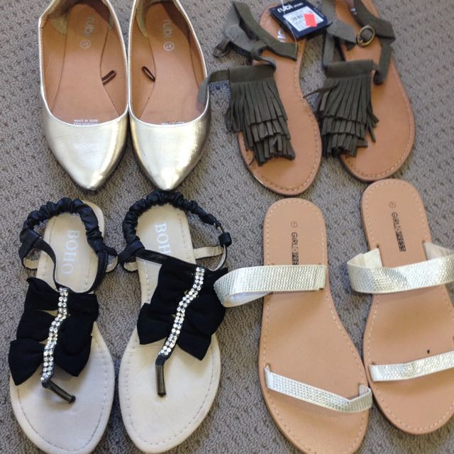 4 Pairs Of Shoes! - Size 37