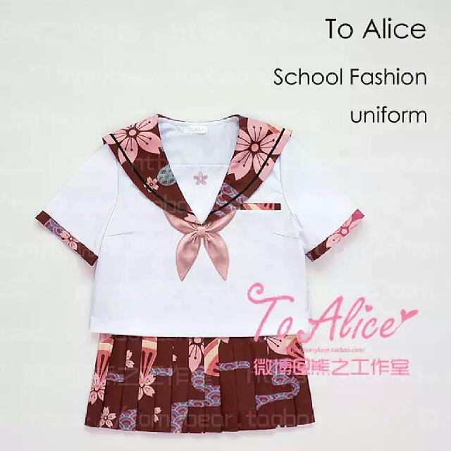 ✨櫻花和風日式水手服