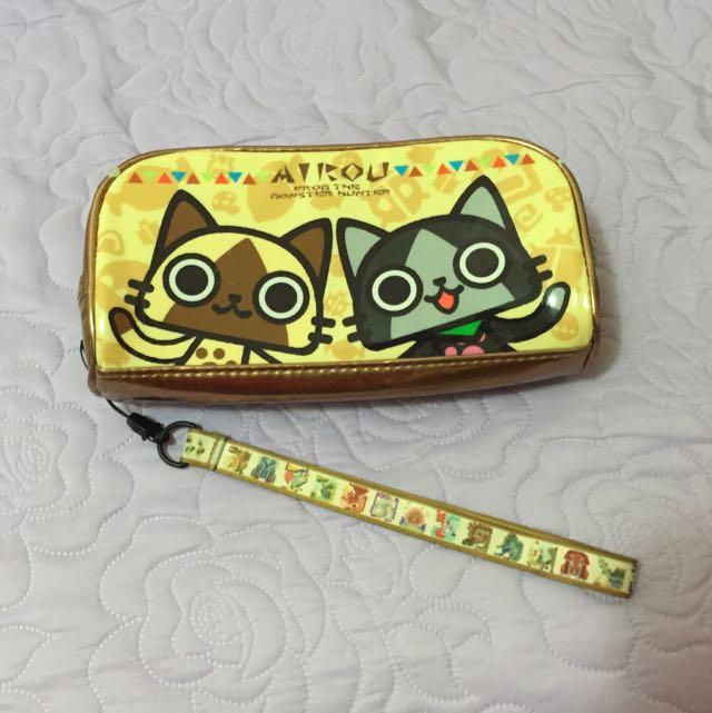 艾路貓鉛筆盒(化妝包)