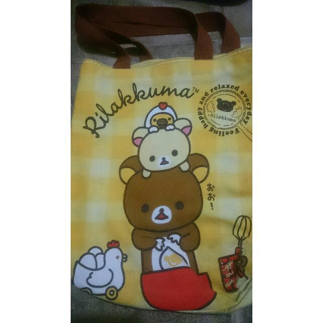(二手)拉拉熊手提包