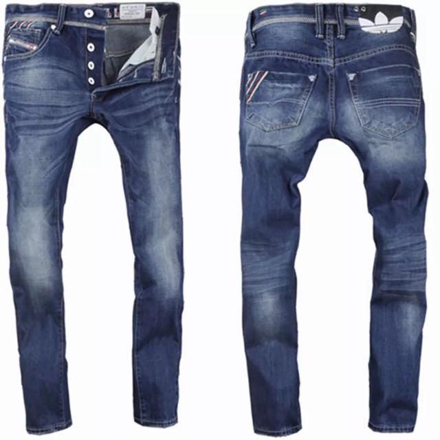 愛迪達 Diesel 紀念聯名款 牛仔褲 全新 附專屬提袋