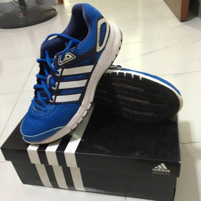 Adidas Sport Shoe(Blue with White Strips)