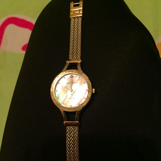 Anne Klein Watch With Diamond