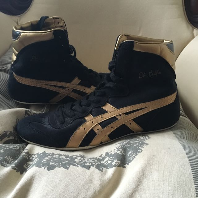 ASIC Tigers - Black & Gold