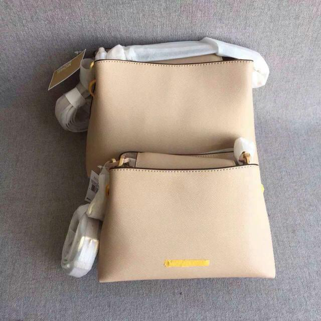 10b718f95c79 AUTHENTIC MICHAEL KORS PORTIA SMALL SAFFIANO LEATHER SHOULDER BAG, Women's  Fashion, Bags & Wallets on Carousell