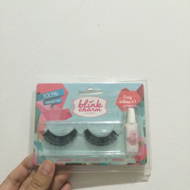 Blink Charm Eyelashes Sexy Volume #1 100% Natural Hair
