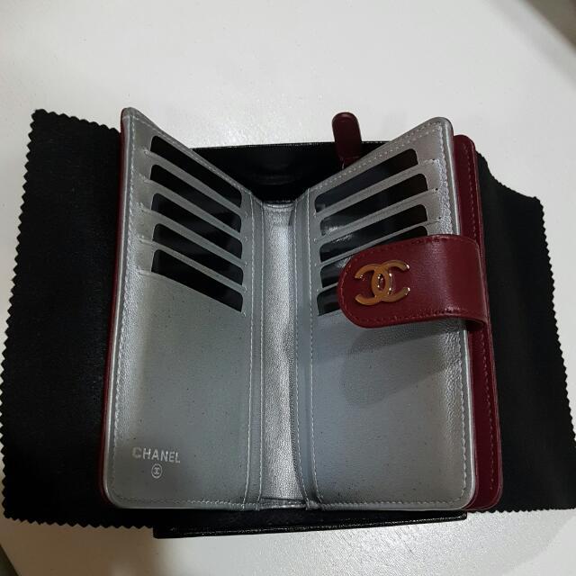BNIB Authentic Chanel Wallet ( L - PORTEFEUILLE )
