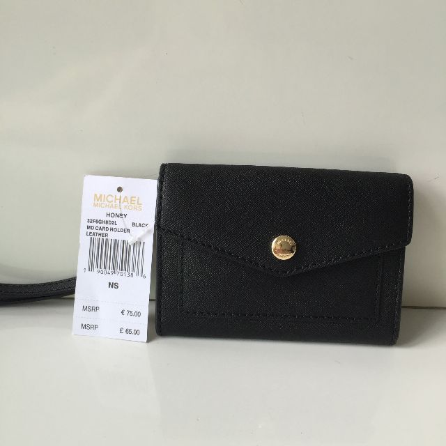 f1e0474d7ac5 RESERVED Brand New Authentic Michael Kors Honey Medium Card Holder ...
