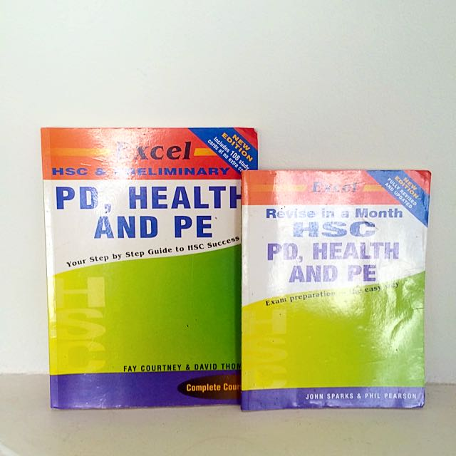 Excel's HSC PDHPE Revision + Prelim and HSC Textbook