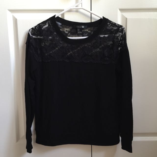 Forever 21 Lacy Jumper
