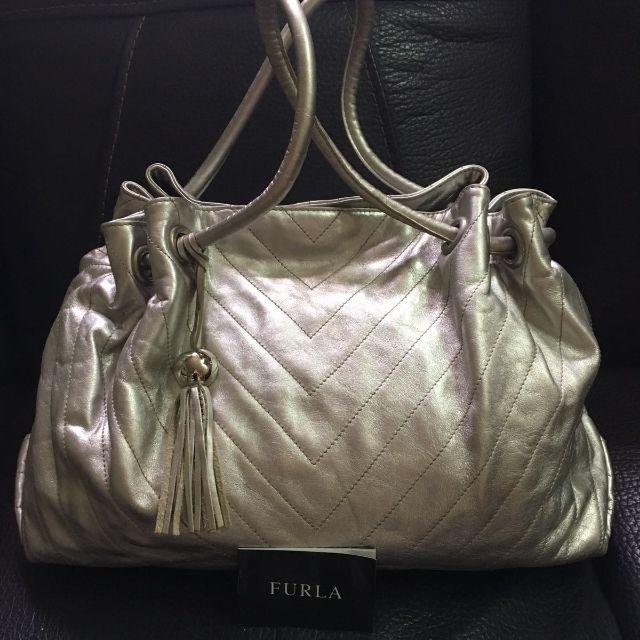 Furla silver bag
