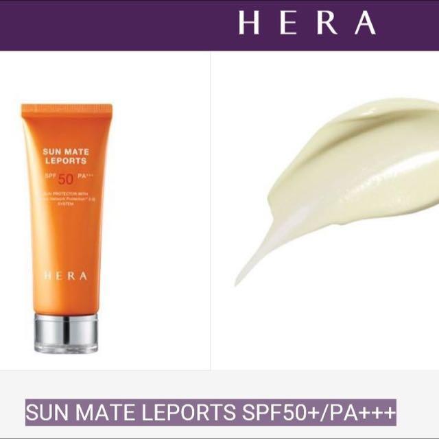(現貨)HERA Sun Mate Leports SPF50 PA+++  防水防汗全日防曬霜 30ml