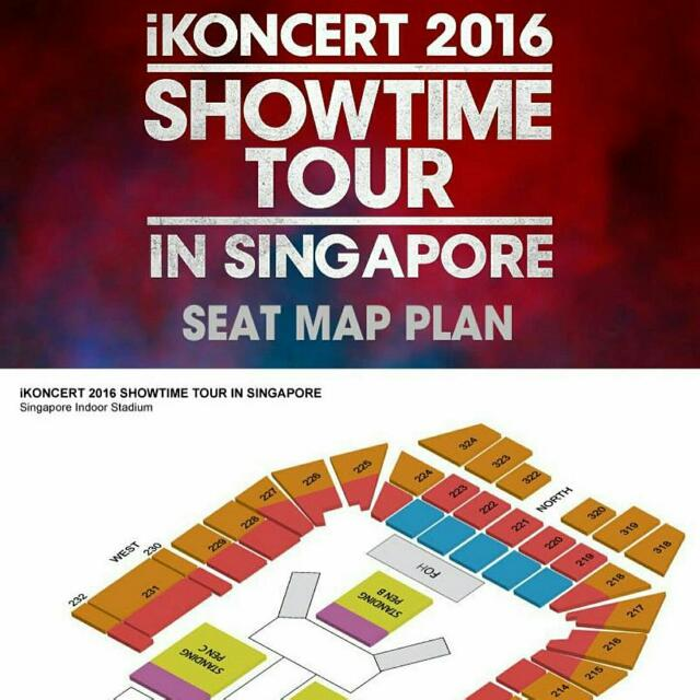 IKONCERT IN SG Tickets