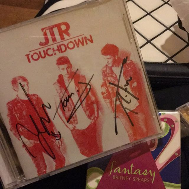 jtr touchdown signed