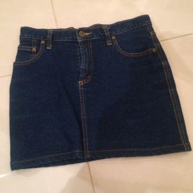Lee Blue Denim Skirt