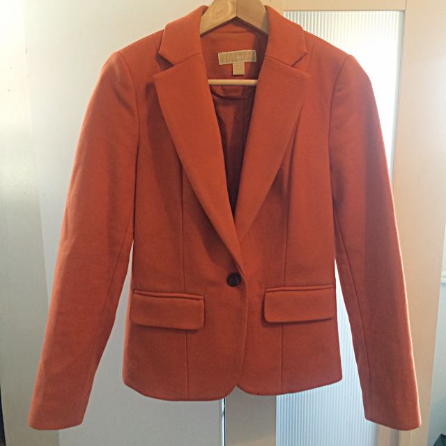 Michael Kors Tailored Wool Blazer