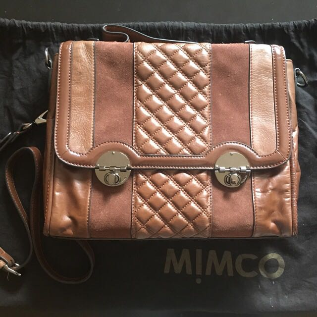 PRICE REDUCED!!! Mimco Anarchy Satchel Bag (PRE-LOVED)