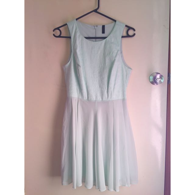 Miss Shop Mint Dress Size 8