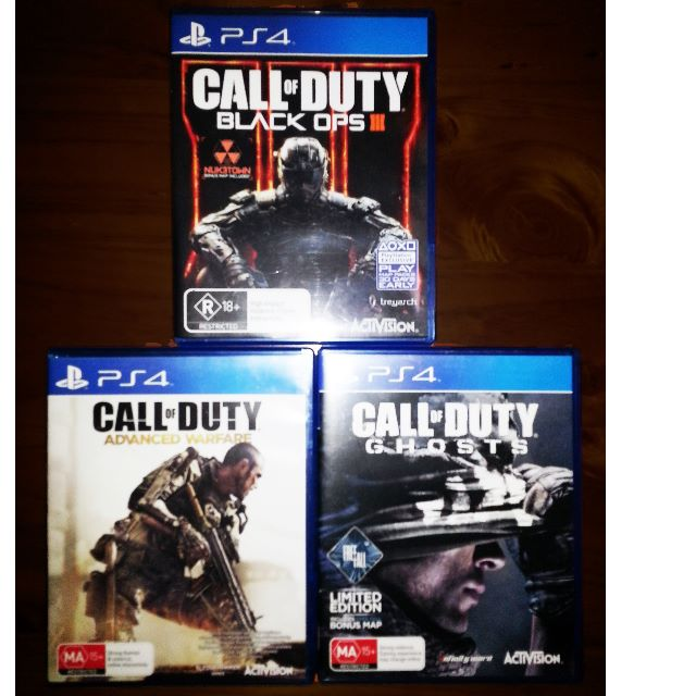 Brand New PS4 games for sale