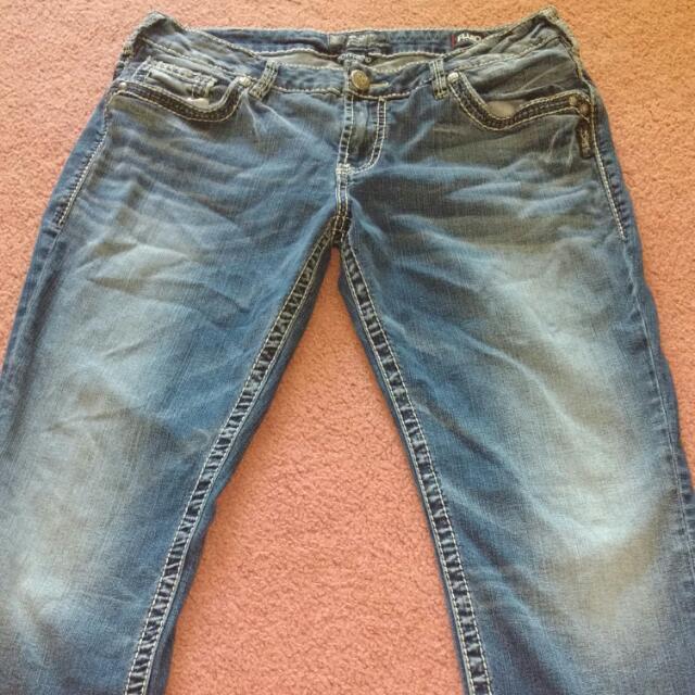 QuickSilver Woman's Jean's