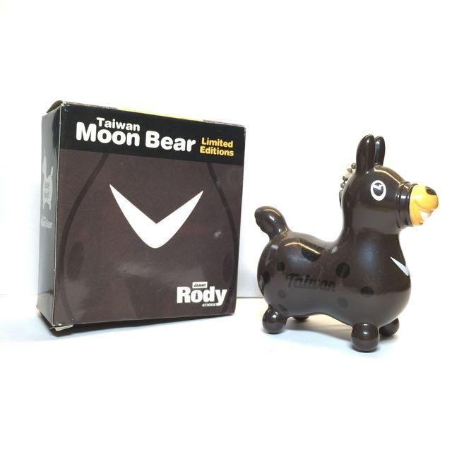 Rody X 台灣黑熊 限量公仔
