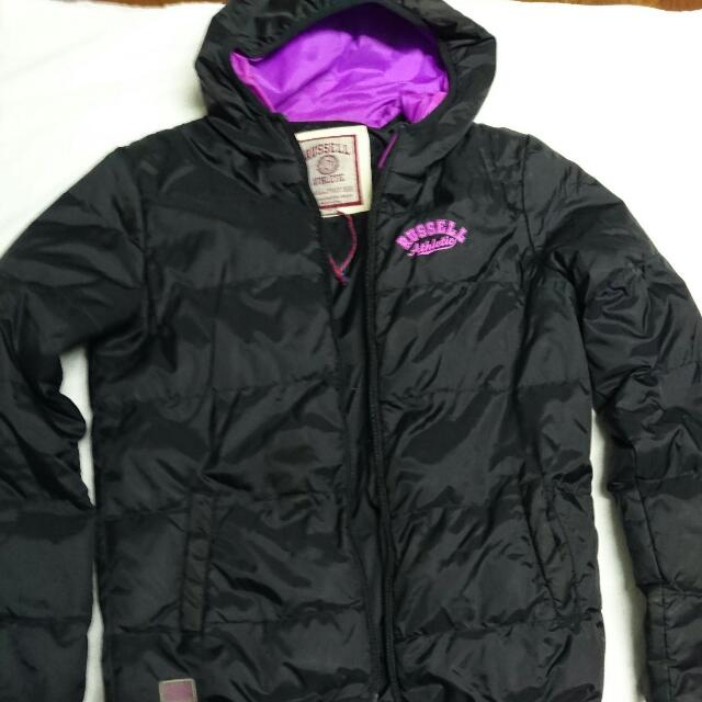 Russell athletics jacket Size 8