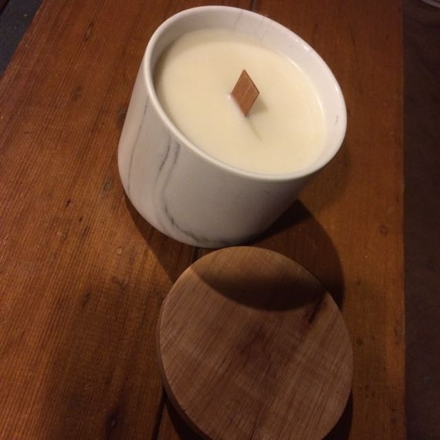 Soy Awesome Wood Wick Candles