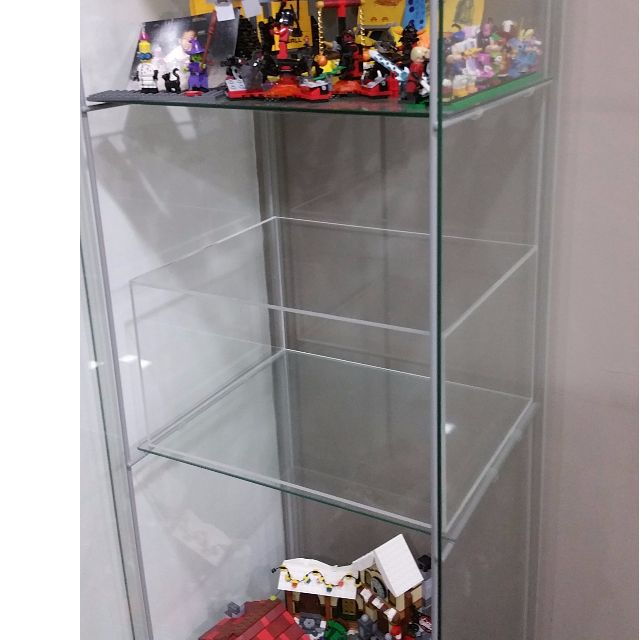 Space Saver For Ikea Detolf Glass Cabinet, Home U0026 Furniture, Others On  Carousell