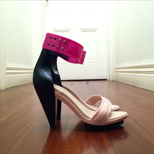 Melissa X Pedro Lourenco Shoes, Size 37