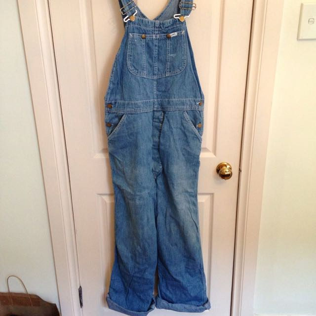 Vintage Lee's Denim Overalls One Size
