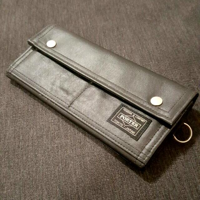 Yoshida & Company PORTER Wallet (Black)