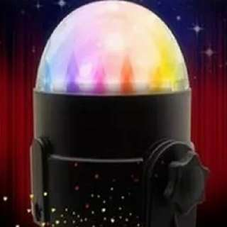 6 Led Disco Ball With Sound Motion (USB friendly)