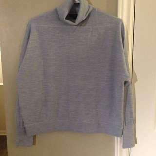 J Crew Wool Turtleneck Sweater