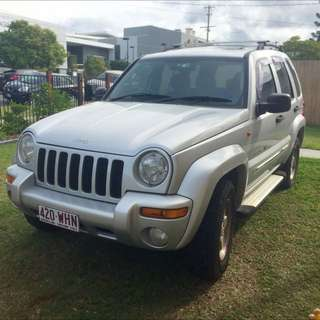 2002 Jeep Cherokee Limited Edition