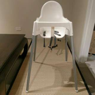 Toddler High Chair - As New Condition