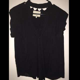 Phillip Lim 3.0 Black Blouse Size 6