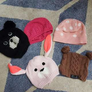Kids Beanies From Age 1 -3yrs