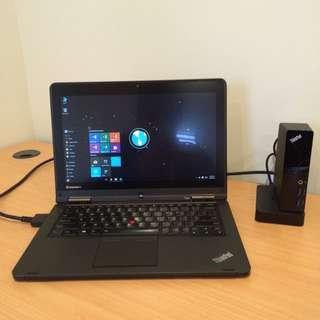 Thinkpad Yoga Convertible Laptop BONUS Onelink Dock
